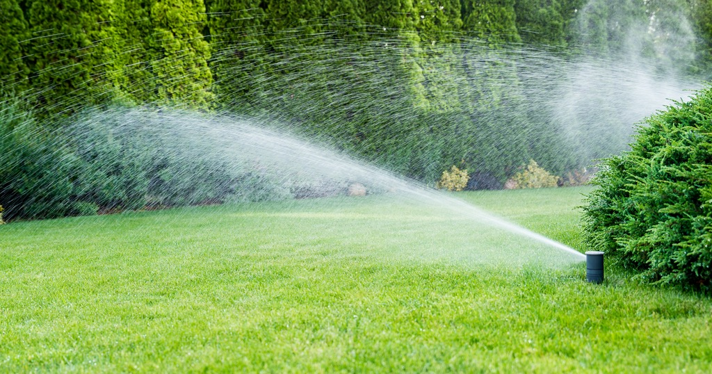 Spring sprinkler service and repair